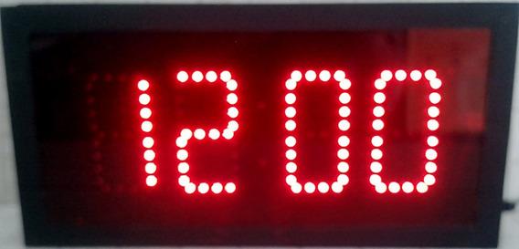 Reloj Cronómetro Temporizador Digital De Leds Digitos 10cm