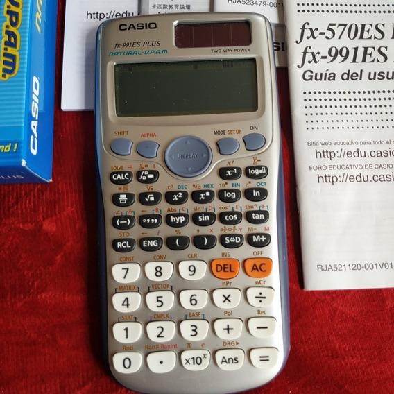 Calculadora Científica 417 Funções Fx-991 Es Plus Casio