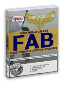 Apostila Formação Sargentos Aeronáutica Concurso Fab 2019