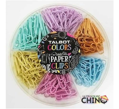Torta De Clips: Más De 300 Clips  6 Colores Pastel - Rosario