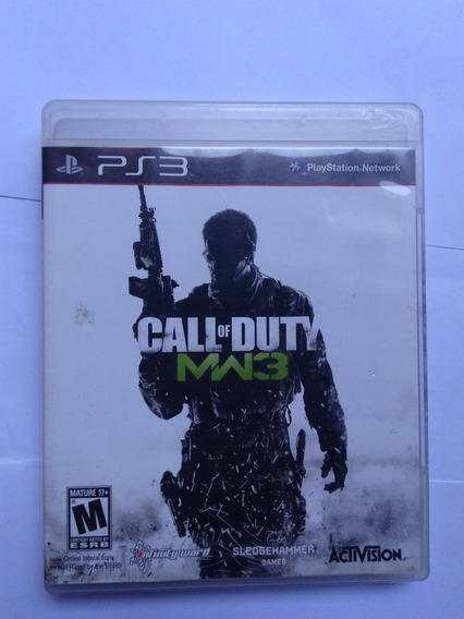 Jogo Call Of Duty Modern Warfare 3 Mw3 Fisica R$34,90