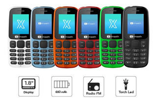 Telefono Celular Basico Smooth Snap X Sin Camara