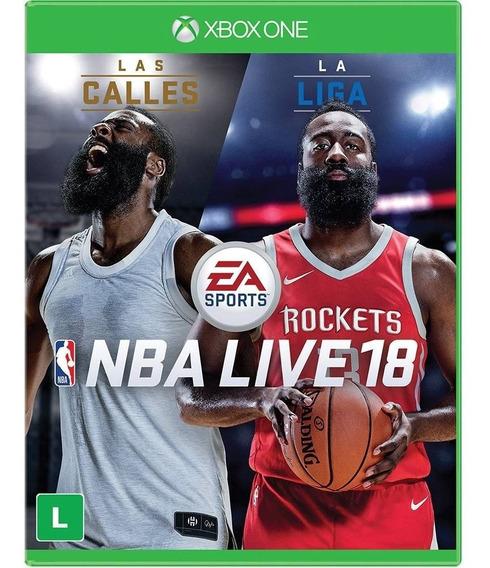 Nba Live 18 - Xbox One - Mídia Física Lacrado