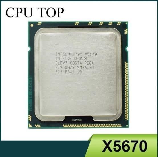 Processador Intel Xeon X5670 3.33 Turboboster Lga 1366