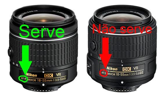 Tampa Lente Objetiva Nikon 55mm Af-p 18-55mm F/3.5-5.6g