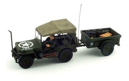 Jeep General C/ Carreta 1:32 Forces Of Valor Unimax 81008