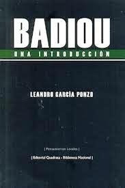Badiou Una Introduccion