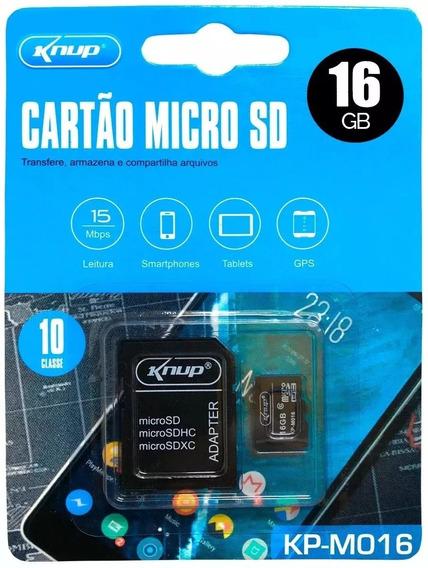 Cartão De Memoria Knup 16 Gb Original