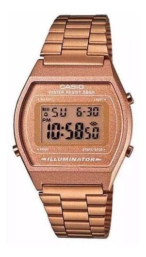 Relógio Casio Feminino Vintage Rose Gold B640wc-5adf