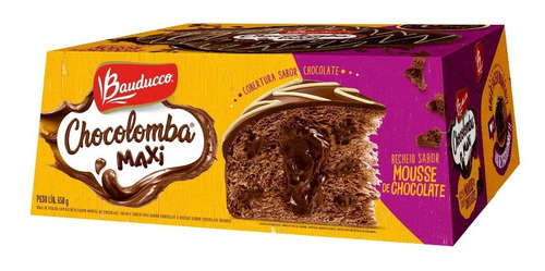 Colomba Pascal Bauducco Chocolomba Mousse De Chocolate 650g