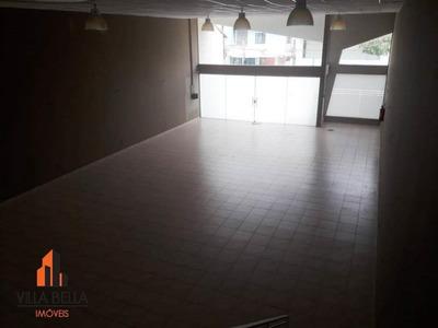 Salão Comercial Para Locação, Casa Branca, Santo André. - Sl0254