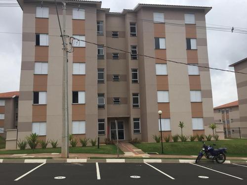 Apartamento Com 2 Dormitórios À Venda, 43 M² Por R$ 185.000 - Loteamento Nova Espírito Santo - Valinhos/sp - Ap0997