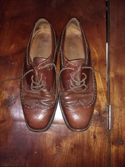 Zapatos De Cuero Talle 40