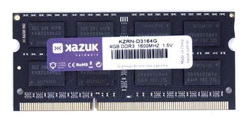 Memória RAM  4GB 1x4GB Kazuk KZRN-D3164G
