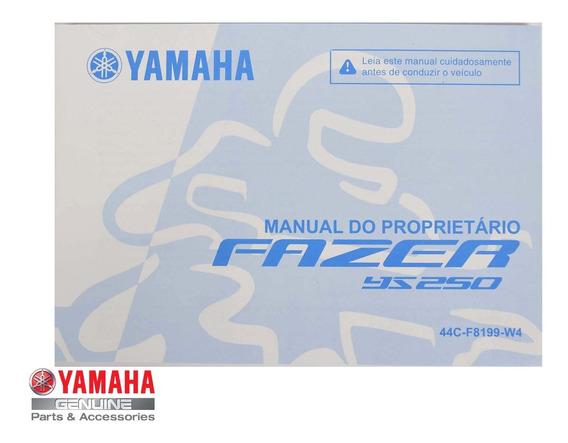 Manual Proprietário Fazer Ys 250 Yamaha
