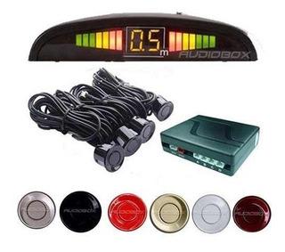 Sensor De Reversa 4 Puntos Display Y Sonido Universal Auto