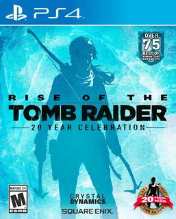 Rise Of The Tomb Raider Ps4 Nuevo - Latino