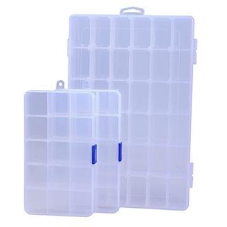 Ecrocy Organizador De Cajas De Plástico Para Joyas,