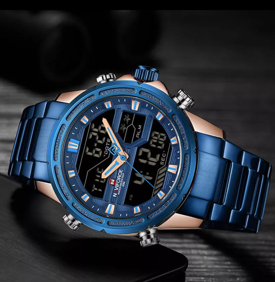 Relógio Maculino Naviforce 100% Original