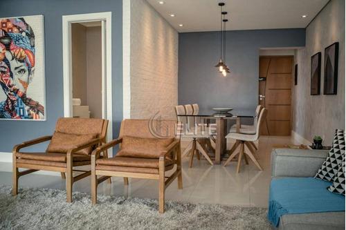 Apartamento Com 2 Dormitórios À Venda, 106 M² Por R$ 740.000,00 - Vila Guiomar - Santo André/sp - Ap12518