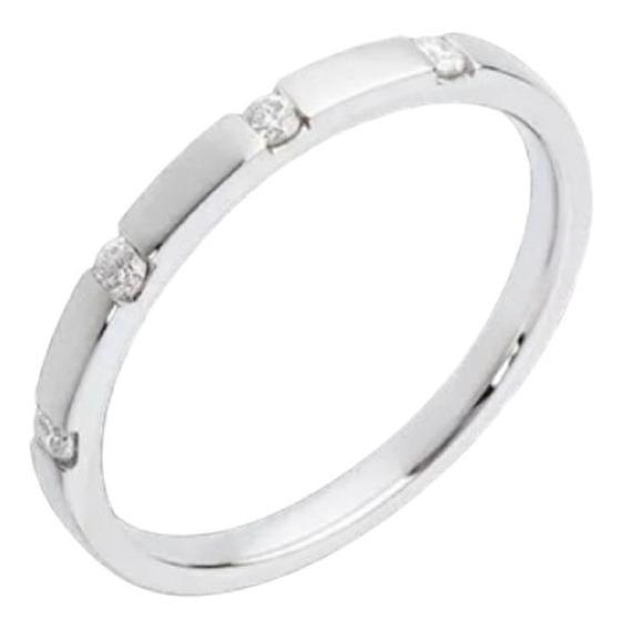 Anel/ Aparador De Ouro 18k Com Diamantes An45vivarjoias