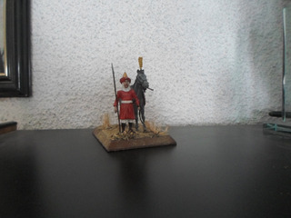 Soldados De Plomo-54 Mm Jenízaro-con Caballo 1-aitor