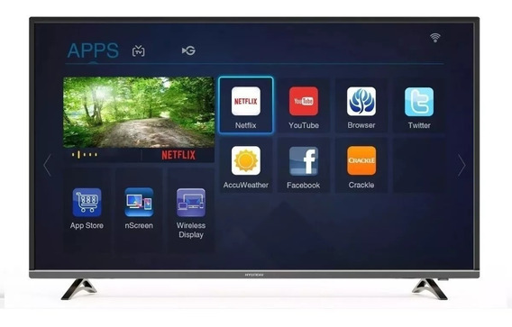 Smart Tv Hyundai Ultra Hd 4k 60 Wifi Youtube Netflix Cuotas