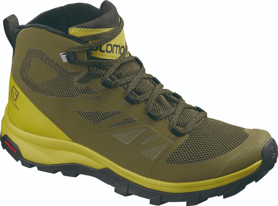 Bota Salomon Masculina - Outline Mid Gtx