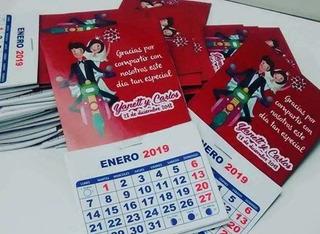 Mini Calendarios Imantados Año 2020