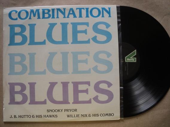 Lp Combination Blues- C/ Vários- 1985- Zerado- Frete 15,00