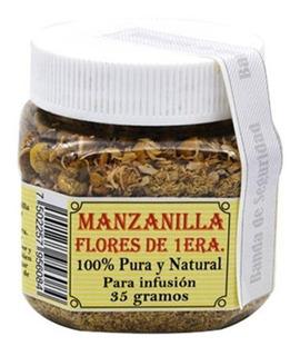 Manzanilla Flores De Primera 100% Pura Y Natural 35 Gr