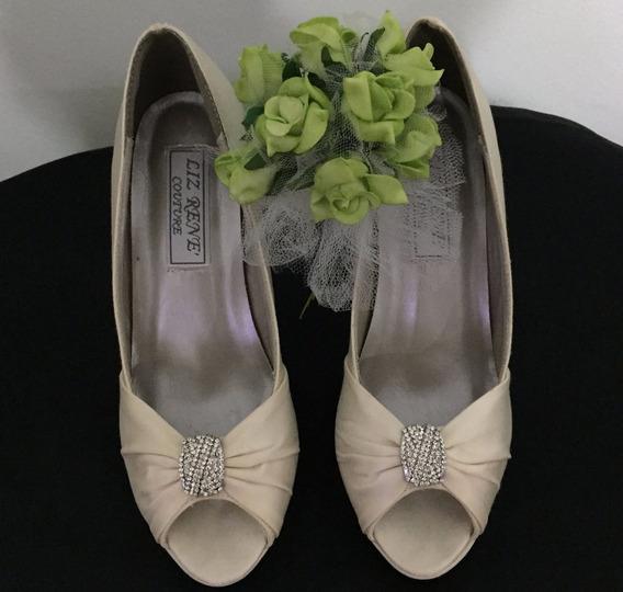 Sapato De Noiva - Branco Off White - Num. 35