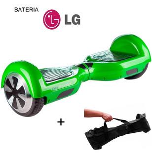 Skate Eletrico Smart Balance Hoverboard Buetooth + Bolsa