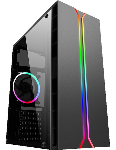 Cpu Gamer Amd Ryzen 5 2600 8gb Ddr4 Ssd 120gb Rx 550 C/nfe