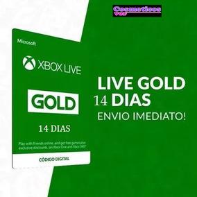 Xbox Live Gold 14 Dias Garantido - Envio Imediato 25 Digitos