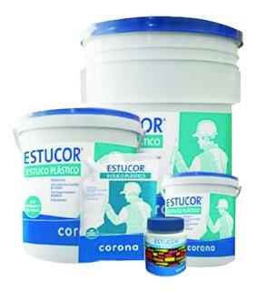 Estucor Blanco Estuco Plastico * 30kg Corona 318001001