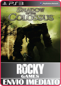 Jogo Ps3 Shadow Of The Colossus Psn Play 3 Mídia Digital