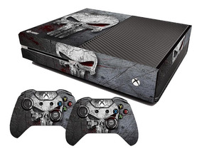 Adesivo Skin Xbox One Fat Justiceiro The Punisher