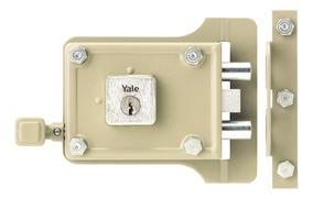 Cerradura De Sobreponer 987 1/4 Pb Derecha Yale Sku 0003001