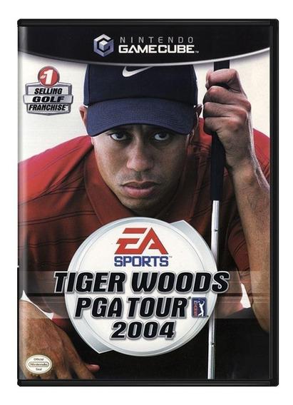 Tiger Woods Pga Tour 2004 Gamecube Mídia Física