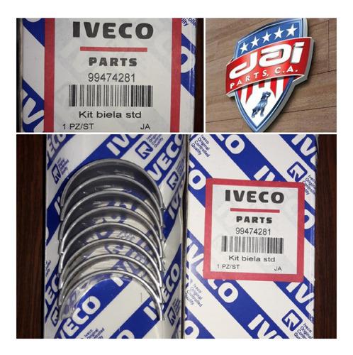 Concha De Biela Para Motor Iveco Daily  5912-6012