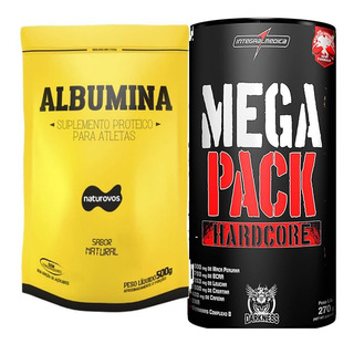 Mega Pack Hardcore (30 Packs) Integralmédica + Albumina 500g