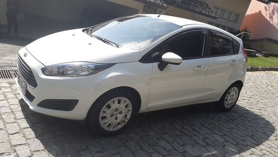Ford New Fiesta 1,5s Flex 14/14 Branco Unico Dono