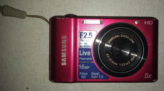 Câmera Samsung Hd 5x16mp (sem Carregador De Bateria)