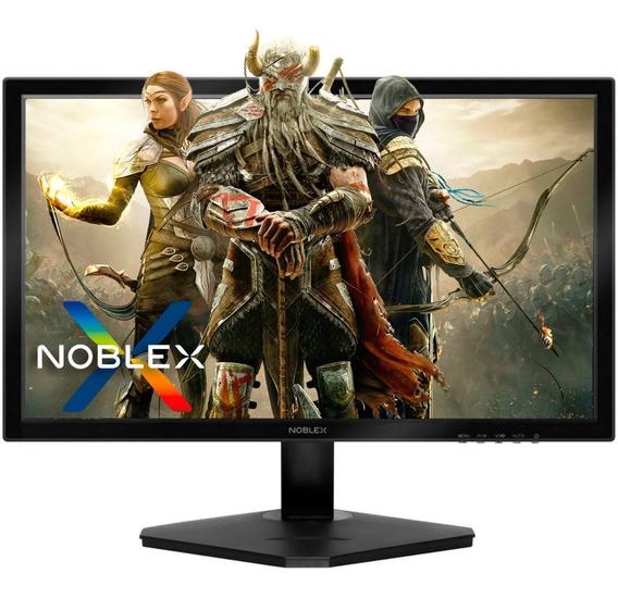 Monitor 19 Pulgadas Noblex Lcd Led Flat Vga Hdmi Hd Ready