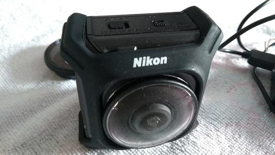 Camera De Ação Da Nikon - Keymission 360 - Filma Em 360