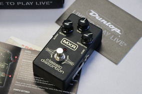 Mxr Classic Distortion Dunlop Pedal Para Guitarra