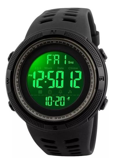 Relógio Skmeii 1251 Preto Prova D