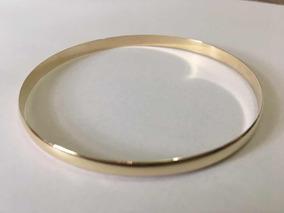 Pulseira Argola Bracelete Ouro 10k