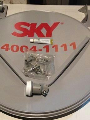 5 Antenas 60 Cm Sem Lnb Sem Fios